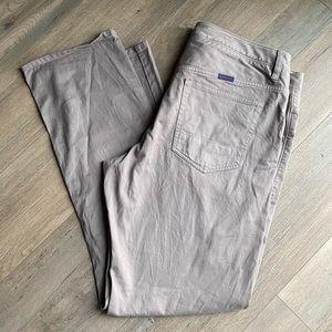 NTUCKIT 35x32 Gray Khaki Relaxed Fit Pants